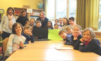 Bürgermeister Jacobi zu Gast beim Kinderparlament