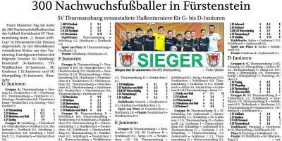 Vorschaubild zur Meldung: 300 Nachwuchsfaßballer in Fürstenstein