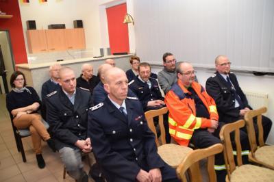Foto zur Meldung: Jahreshauptversammlung der Freiwilligen Feuerwehr Dergenthin