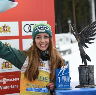 Vorschaubild zur Meldung: Zweiter Tagessieg für Juliane in Nizny Tagil