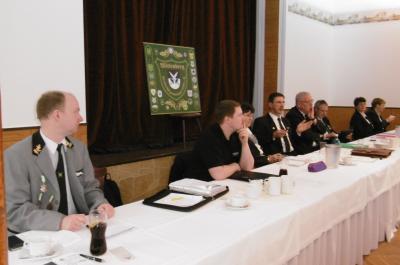 Foto zur Meldung: Präsidium des KSV Wittenberg zog vor Delegierten Bilanz