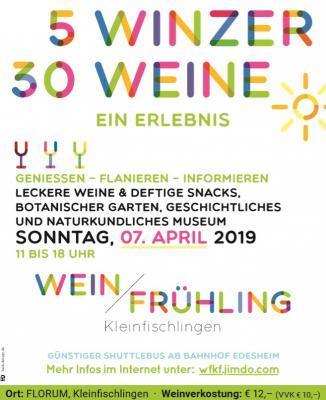 Foto zur Meldung: Weinfrühling 2019
