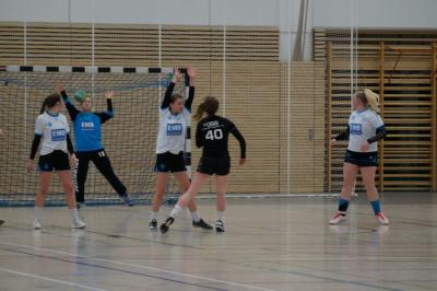 Foto zur Meldung: A-Jugend unterliegt dem Team der OSG Fredersdorf-Vogelsdorf in eigener Halle