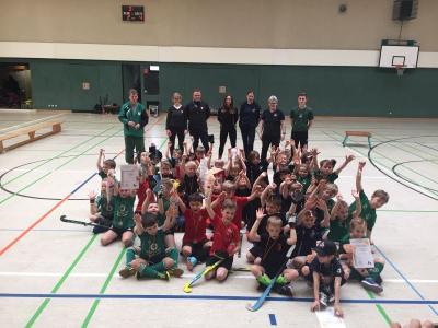 Foto zur Meldung: Minis gewinnen Landespokal