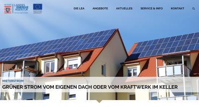 Foto zur Meldung: Die HESA informiert: Mieterstrom – Baustein der Energiewende in Hessen