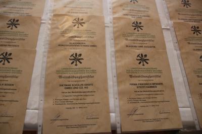 Zertifikate für die Weiterbildung