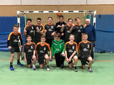 Foto zur Meldung: JSG Buchberg mC-Jugend ist Meister in der Bezirksliga