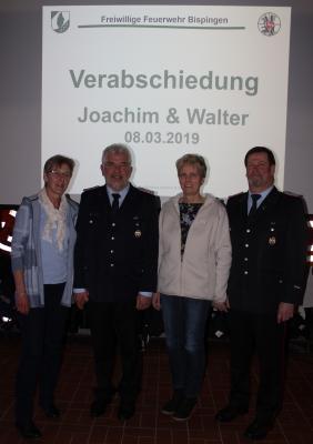 Foto zur Meldung: Verabschiedung Ortsbrandmeister und Stellvertreter