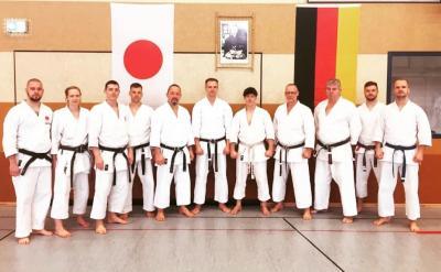 Vorschaubild zur Meldung: Karate-Lehrgang mit Sensei André Berthel