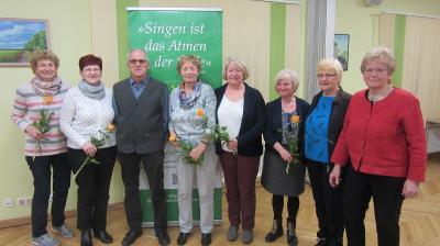 Foto zu Meldung: Rehfelder Sängerkreis hat seinen Vereinsvorstand gewählt