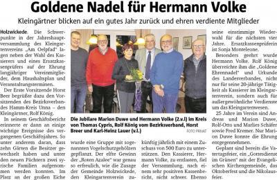 Bericht Hellweger Anzeiger vom 20.03.2019