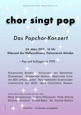 Foto zur Meldung: Das Popchor-Konzert