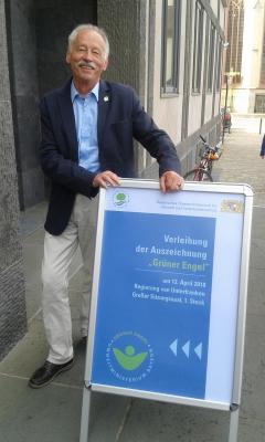 Foto zur Meldung: Einsatz für Mensch und Natur - Oswald Türbl wird 70