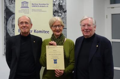 Prof. Dr. Jörg Haspel, Prof. Dr. Gudrun Kammasch, Prof. Dr. Klaus Hüfner