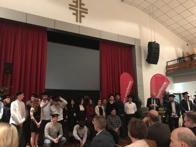 Foto zur Meldung: Erfolgreich bestanden! Freisprechungsfeier der Kreishandwerkerschaft Groß-Gerau