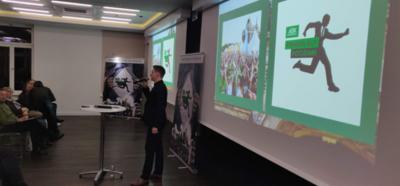 Foto zur Meldung: Rückblick des Teamcaptain-Treffens für den AOK-Firmenlauf