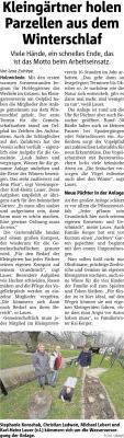 Bericht Hellweger Anzeiger vom 25.03.2019