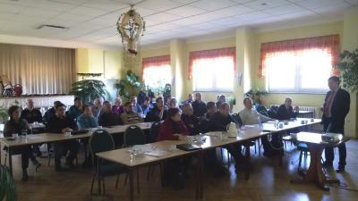 Foto zur Meldung: Winterschulung zum Thema GAP, Grundstücksrecht und Stalleinbrüche