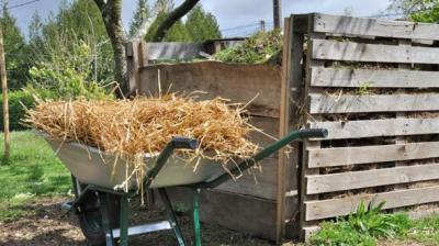 Foto zur Meldung: Kompostieranlage ab April wieder offen!