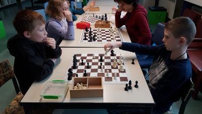 Vorschaubild zur Meldung: Schach in der Pause