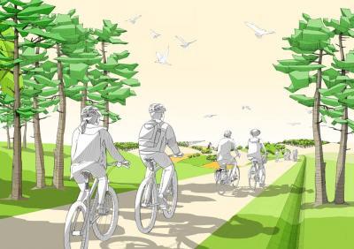 Foto zu Meldung: E-Bike-Verleih für die ganze Familie – Erlebnisurlaub in Elbe-Elster