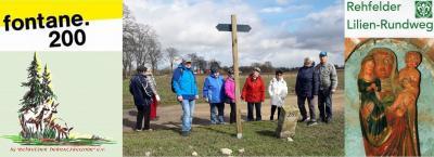 Foto zur Meldung: Heimatfreunde eröffnen Fontanejahr in Rehfelde