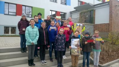 """Vorschaubild zur Meldung: """"Voneinander lernen-miteinander teilen""""   Frühstücksaktion zu Gunsten der Kindernothilfe  an der Grundschule Mühlberg am 26.3.2019"""