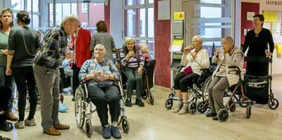 Vorschaubild zur Meldung: Vernissage im Seniorenheim Wildau