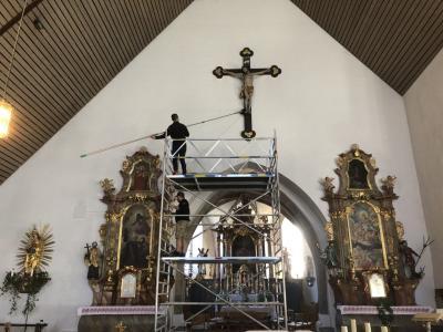 Reinigung Kirche Miltach 2019