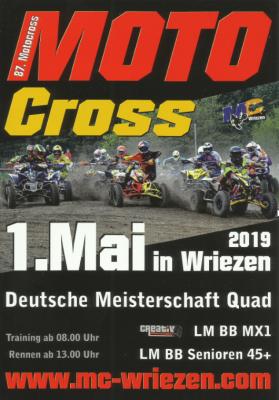 Vorschaubild zur Meldung: 87. Motocross in den Silberbergen