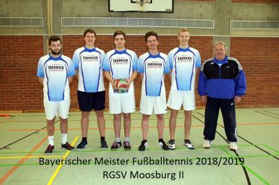 von li. Jakob Held, Andreas Spendl, Paul Held, Marcel Dischler, Tobias Spendl, Martin Hofmair