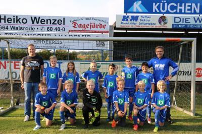Foto zur Meldung: U12/2: D3-Jugend - Gewinnt Teamfoto-Gewinnspielaktion