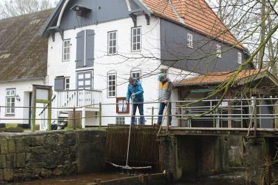 Foto zur Meldung: Bürgerverein hält Mühlrad in Gang