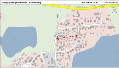 Foto zur Meldung: UMFRAGE: Neuer Straßenname in Fangschleuse (Grünheide Mark)