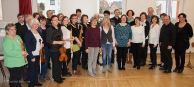 Teilnehmer des Erwachsenenkonzertes. Foto: Gerlind Bensler