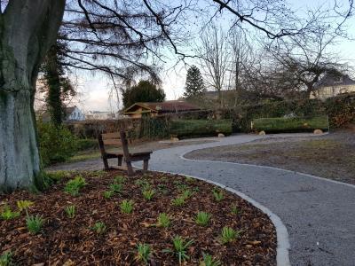 Foto zur Meldung: Baumbestattung auf dem Gemeindefriedhof Holzwickede