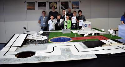 MCD auf dem Robotics Wettbewerb der TU München