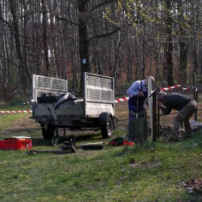 Foto zu Meldung: Frühjahrsputz am Naturlehrpfad ist geschafft
