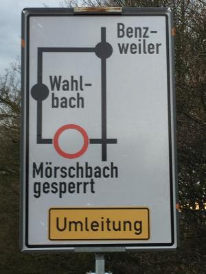Foto zu Meldung: Erneuerung der Kreisstrassen in Mörschbach