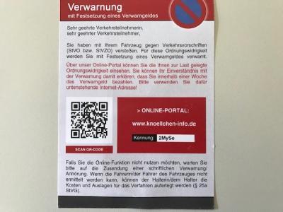 Vorschaubild zur Meldung: Das Ordnungsamt verteilt jetzt Online-Knöllchen