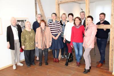 Unser Bild entstand beim gemeinsamen Gespräch im Museum und Galerie Falkensee.