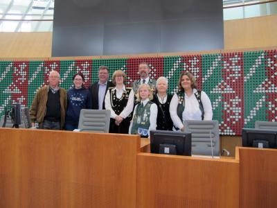 Schützenbesuch im Landtag NRW