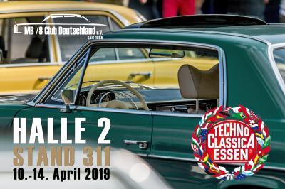 MB/8 Club auf der Techno Classica 2019