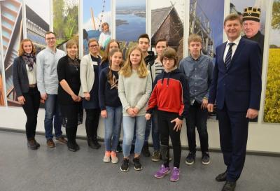Großes Interesse am Zukunftstag für Mädchen und Jungen in der Kreisverwaltung 2019 (Foto: Landkreis)