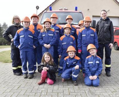 Foto zur Meldung: Amtsausbildungstag Jugendfeuerwehren des Amtes Ludwigslust-Land