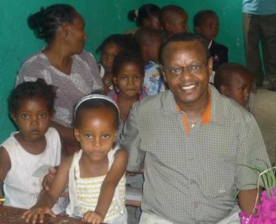 Teshome in Äthiopien