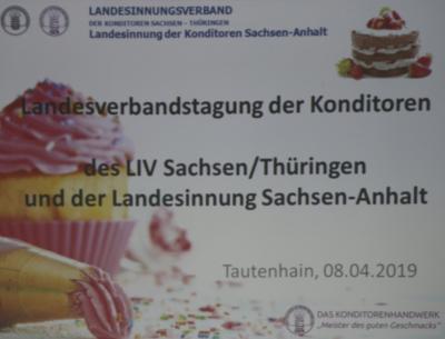 Foto zu Meldung: Verbandstag der Konditoren Sachsen, Sachsen-Anhalt, Thüringen 2019