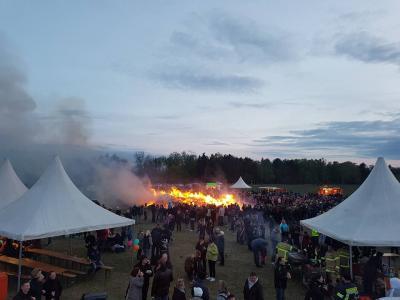 Vorschaubild zur Meldung: Osterfeuer findet statt