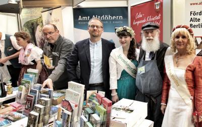 Foto zur Meldung: Altdöbern und Calau punkten bei Berliner Reisemesse