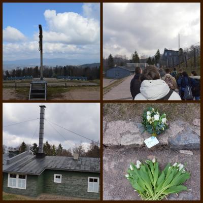 Vorschaubild zur Meldung: Exkursionsfahrt zur KZ-Gedenkstätte Natzweiler-Struthof